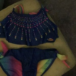 Girls bikini top and bottom